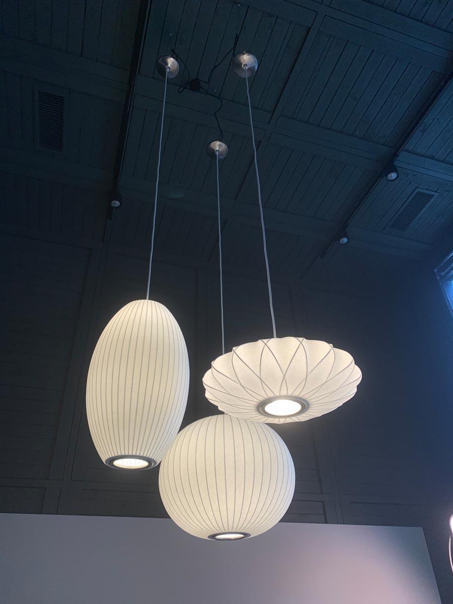 tre lampade Nelson Hay